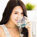 uống nước muối loãng